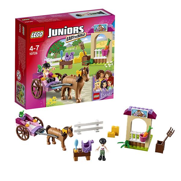 Lego Juniors 10726 Лего Джуниорс Карета Стефани