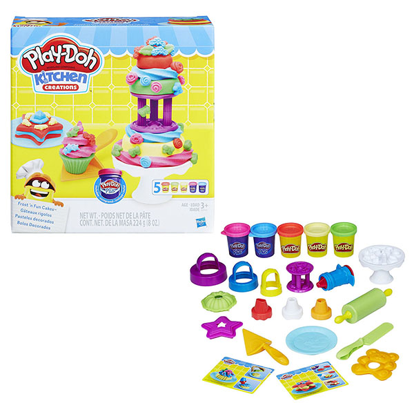 Hasbro Play-Doh B9741 Игровой набор Для выпечки play doh игровой набор праздничный торт