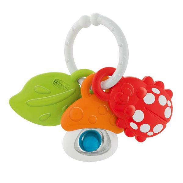 CHICCO TOYS 9709AR Игрушка-погремушка Nature's Friends мягкая игрушка chicco 92408