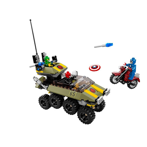Конструктор Lego Super Heroes 76017 Лего Супер Герои Капитан Америка против Гидры