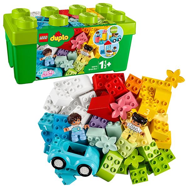 LEGO DUPLO 10913 Конструктор ЛЕГО ДУПЛО Коробка с кубиками lego duplo 10837 новый год lego