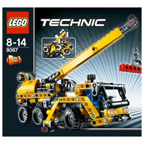 Лего Техник 8067 Конструктор Передвижной мини-кран