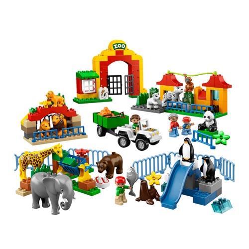 Lego Duplo 6157 Конструктор Большой зоопарк