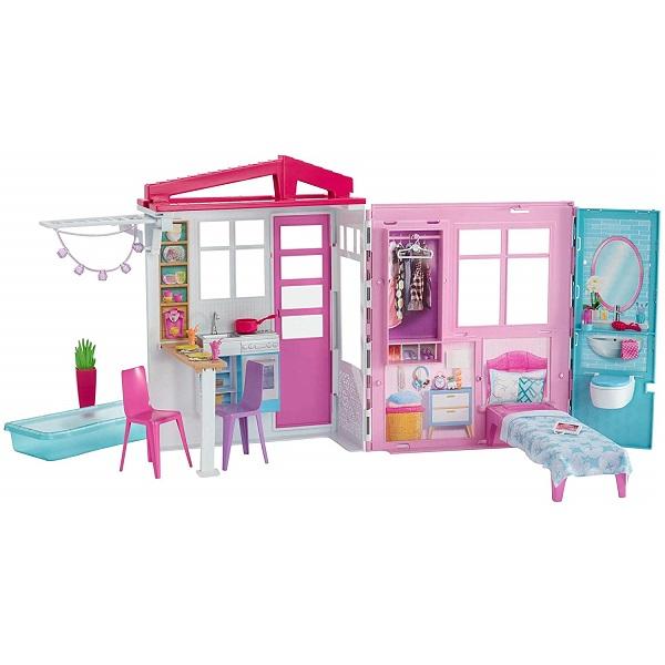Фото - Mattel Barbie FXG54 Барби Раскладной домик домик для barbie барби paremo муза