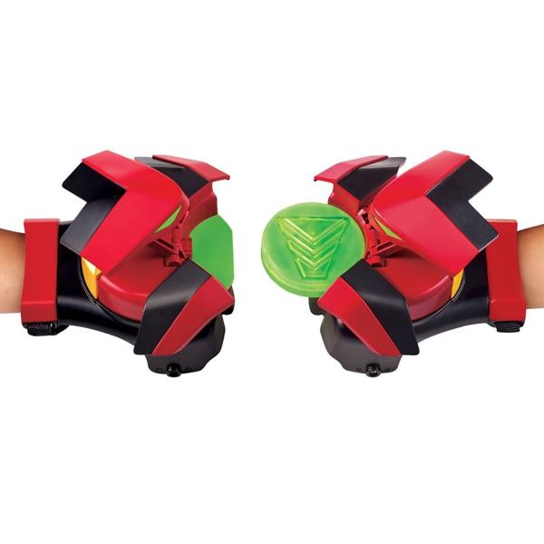 Power Players 38626 Игровой набор перчатки-браслеты Акселя (звук. свет. эффекты)