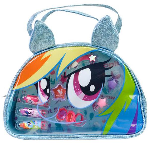 Markwins 9802451 My Little Pony Игровой набор детской декоративной косметики в сумочке markwins 9711551 my little pony игровой набор детской декоративной косметики для губ