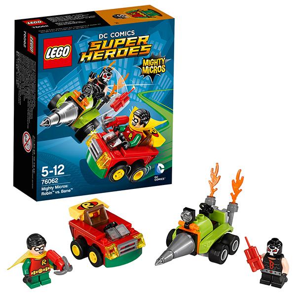 Lego Super Heroes 76062 Конструктор Лего Супер Герои Робин против Бэйна цена