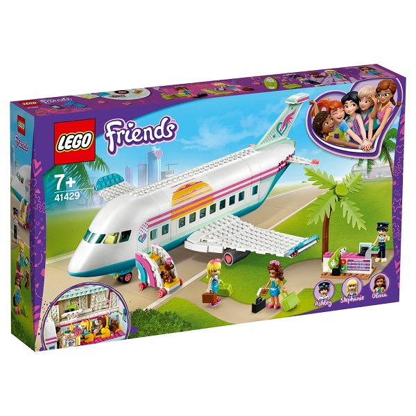 LEGO Friends 41429 Конструктор ЛЕГО Подружки Самолёт в Хартлейк Сити