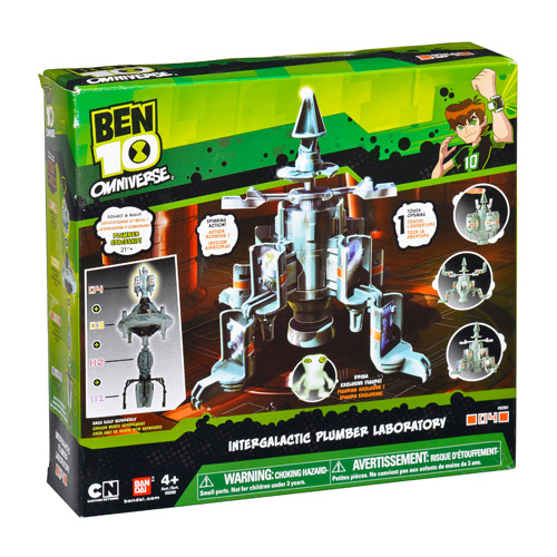 Ben10 36260 Бен 10 Межгалактическая станция (в ассортименте)