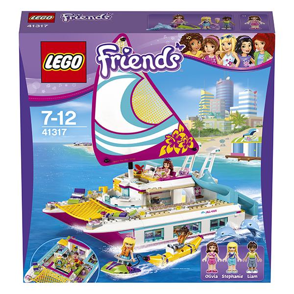 LEGO Friends 41317 Конструктор ЛЕГО Подружки Катамаран Саншайн