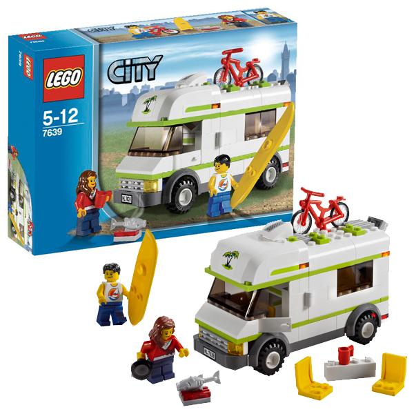 Lego City 7639 Конструктор Лего Город Домик на колесах