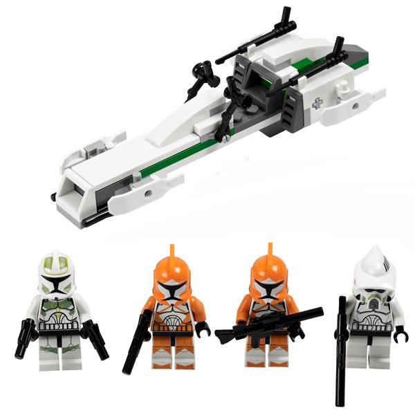 Lego Star Wars 7913 Конструктор Лего Звездные войны Боевой отряд штурмовиков-клонов