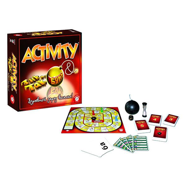 Piatnik 738791 Настольная игра Activity + Tик Так Бумм arsstar настольная игра activity 2 новый дизайн