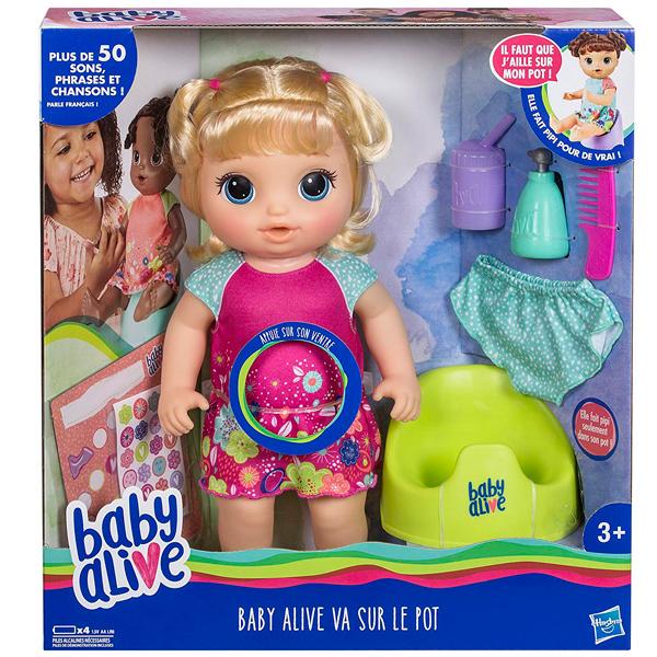 "Hasbro Baby Alive E0609 Кукла Блондинка ""Танцующая Малышка"""