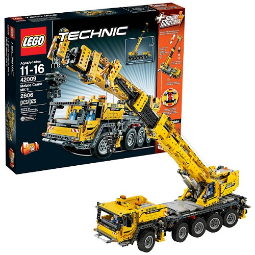 Lego Technic 42009_1 Конструктор Лего Техник Передвижной кран MK II