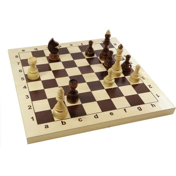 Десятое королевство TD02846 Игра настольная Шахматы Гроссмейстерские деревянные, 43см х 43см игра настольная шахматы
