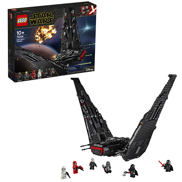 LEGO Star Wars 75256 Конструктор ЛЕГО Звездные войны Шаттл Кайло Рена цена и фото