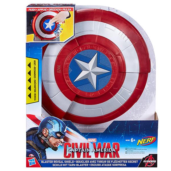 Hasbro Avengers B5781 Боевой щит Первого Мстителя