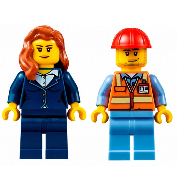 LEGO City 60102 Конструктор ЛЕГО Город Служба аэропорта для VIP-клиентов
