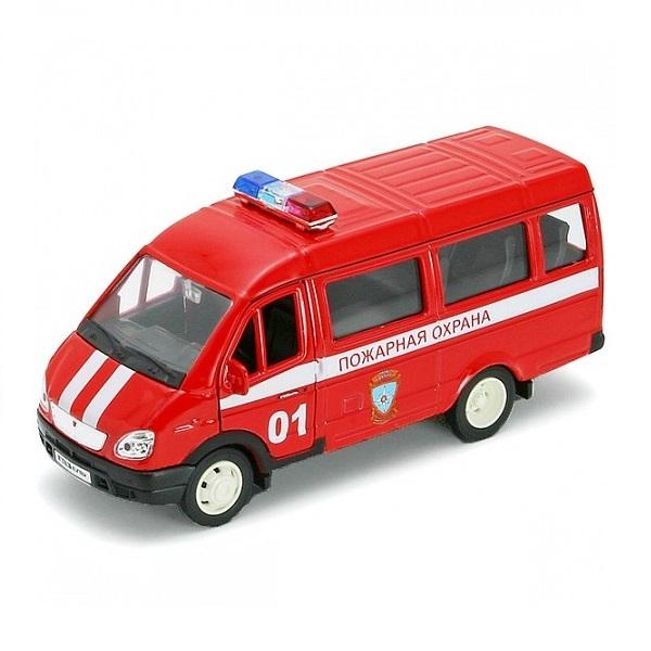 Welly 42387AFS Велли Модель машины 1:34-39 ГАЗель ПОЖАРНАЯ ОХРАНА welly welly модель машины газель пожарная охрана