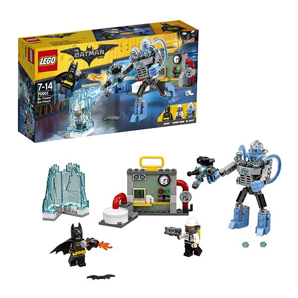 Lego Batman Movie 70901 Конструктор Лего Фильм Бэтмен: Ледяная aтака Мистера Фриза lego batman movie блокнот бэтмен96 листов в линейку