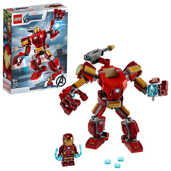 LEGO Super Heroes 76140 Конструктор ЛЕГО Супер Герои Железный Человек: трасформер цена и фото