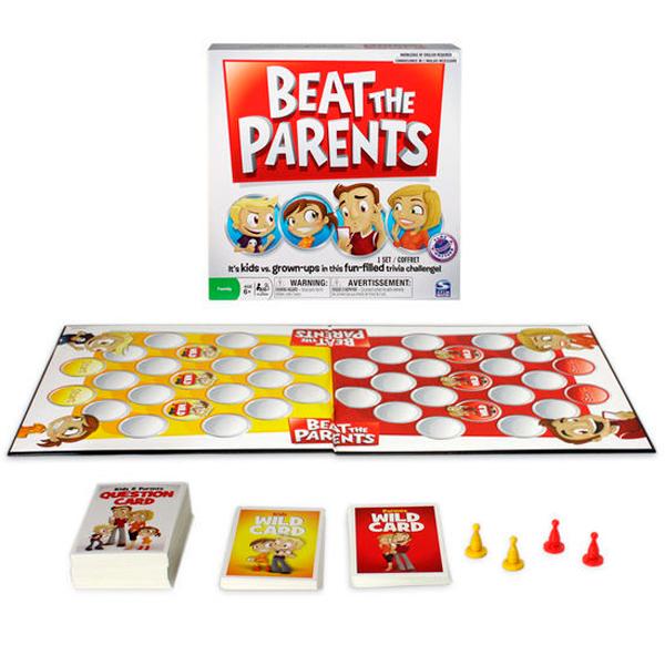 Spin Master 34512 Спин Мастер настольная игра Обыграй родителей spin master обыграй родителей