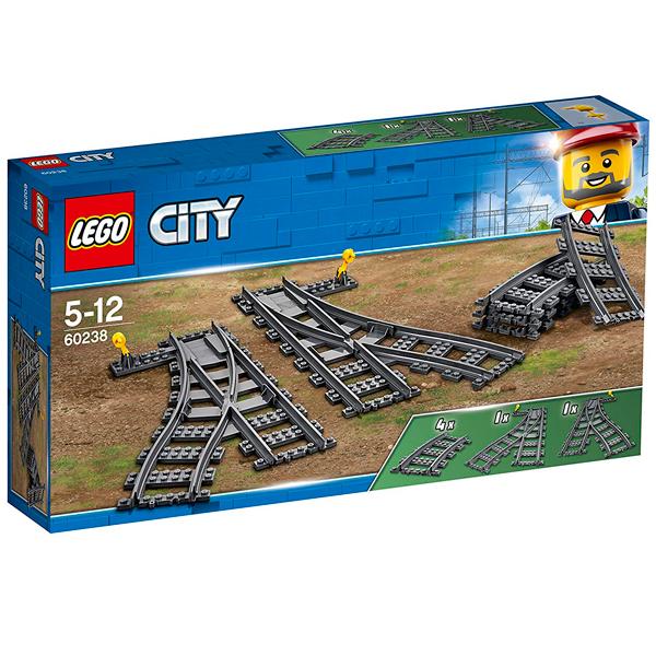 LEGO City 60238 Конструктор ЛЕГО Город Железнодорожные стрелки