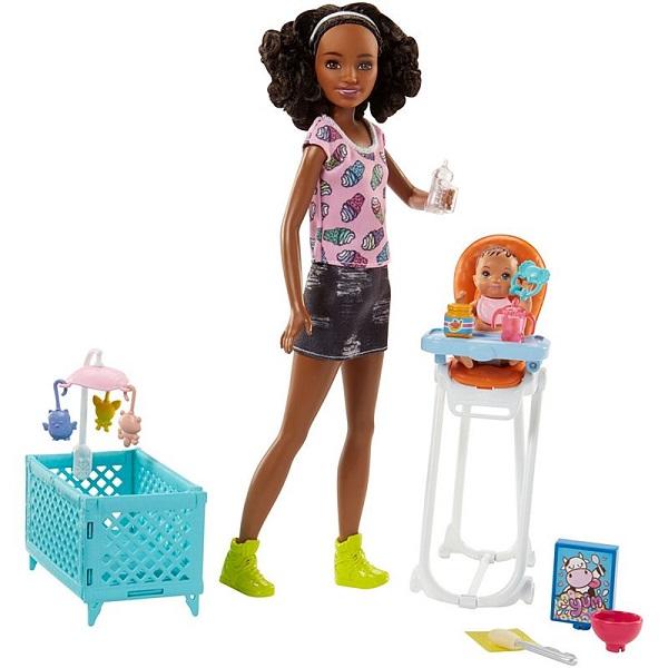 Mattel Barbie FHY99 Барби Набор Няня сменный кен для барби