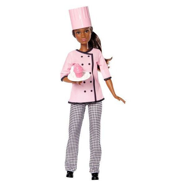 Mattel Barbie DVF54 Барби Кукла из серии Кем быть? barbie набор сестра барби с питомцем barbie dmb26