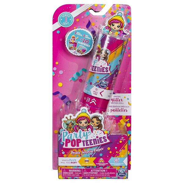 Party Popteenies 46801 Хлопушка с сюрпризом (1кукла+1питомец+акссессуары)