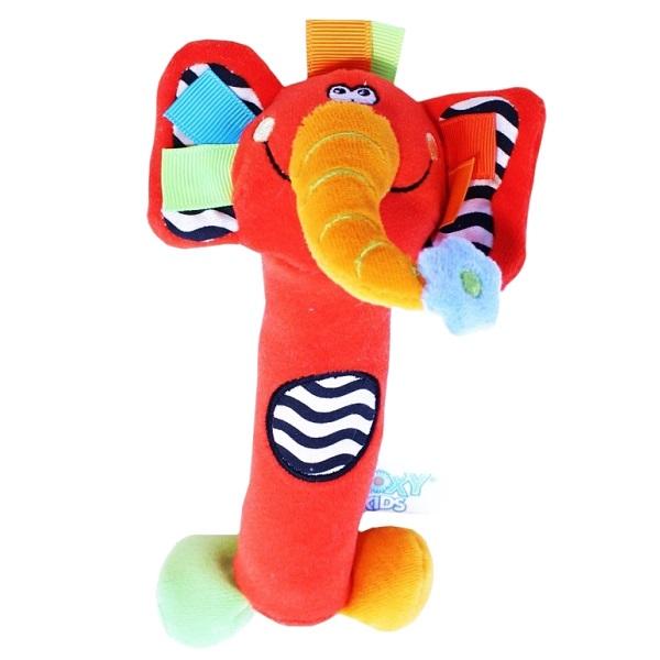 Фото - ROXY-KIDS RBT20014 Игрушка развивающая Слоненок Сквикер. Пищалка внутри. Размер 18 см roxy kids rbt20014 игрушка развивающая слоненок сквикер пищалка внутри размер 18 см