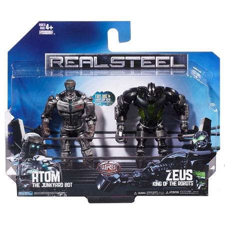 Real Steel 36134 Живая сталь Набор из 2 Боевых роботов 13 см (в ассортименте)