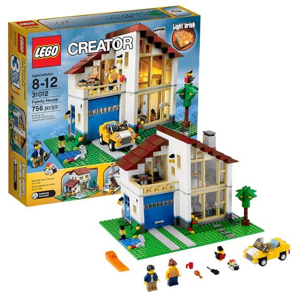 Lego Creator 31012_1 Конструктор Лего Криэйтор Семейный домик