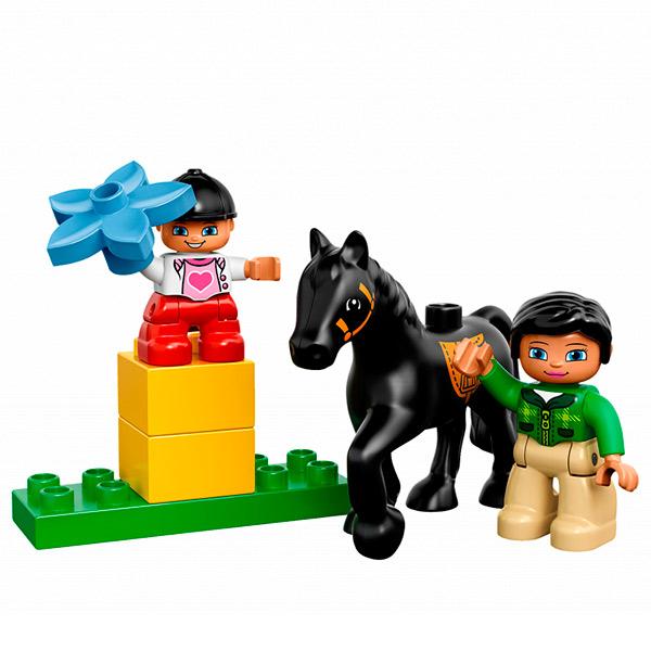 Лего Дупло 10807 Конструктор Трейлер для лошадок