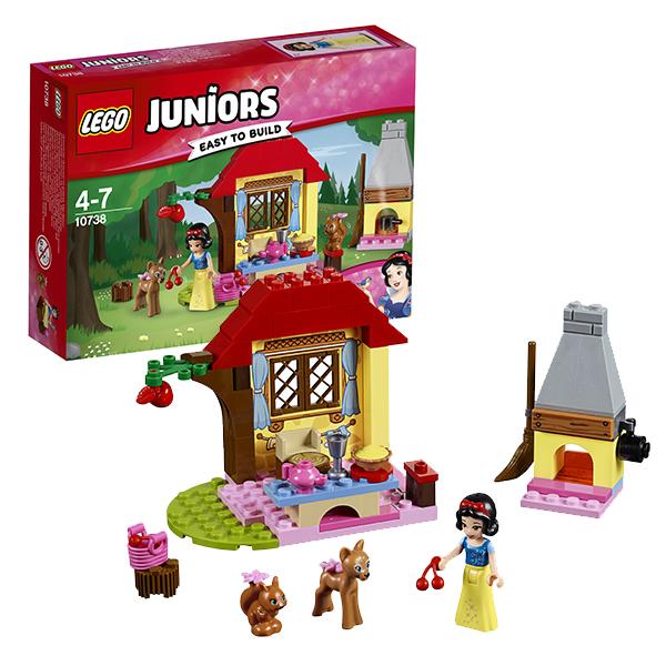 Lego Juniors 10738 Лего Джуниорс Лесной домик Белоснежки lego juniors 10739 лего джуниорс ниндзяго нападение акулы