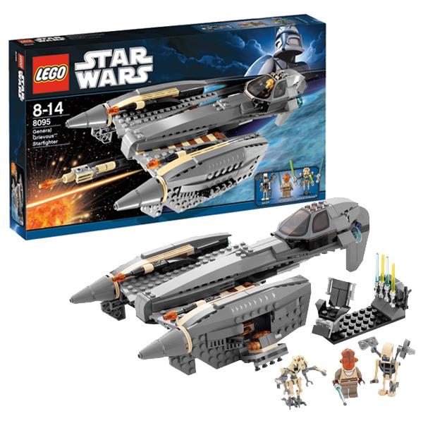 Lego Star Wars 8095 Конструктор Лего Звездные войны Звездный истребитель Генерала Гривуса