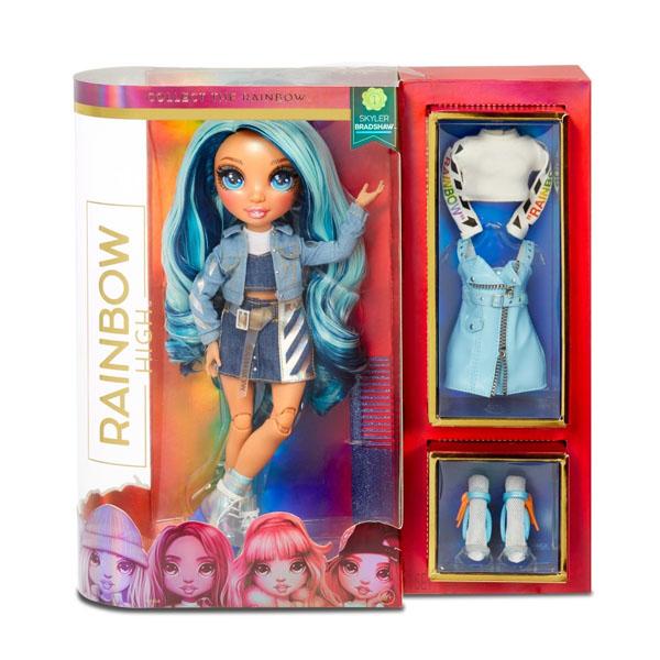 Poopsie Surprise Unicorn 569633 Кукла Rainbow High-Skyler Bradshaw