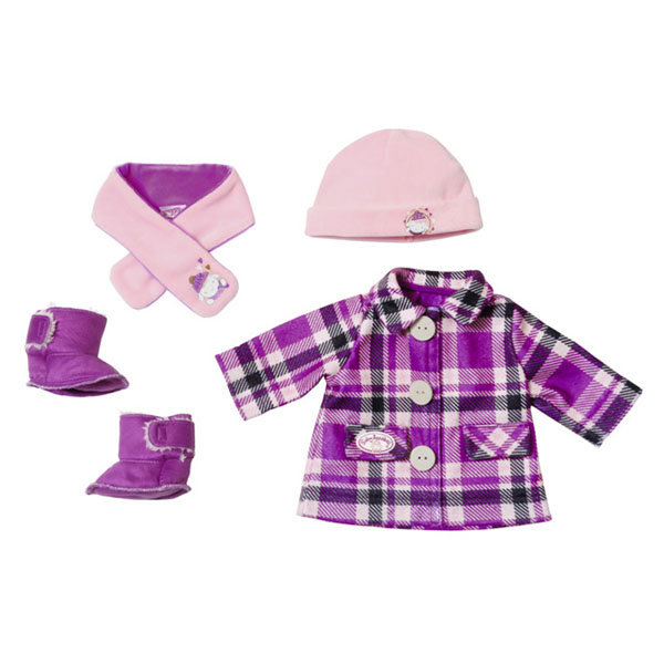Zapf Creation Baby Annabell 702-864 Бэби Аннабель Одежда Модная зима недорого