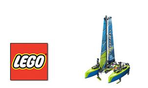 Плавающая модель LEGO Technic