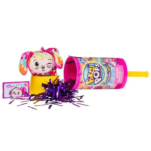Pikmi Pops 75227P Набор с героем и конфетти Pushmi Ups (в дисплее) игрушка moose pikmi pops surprise 75130