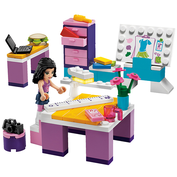 Lego Friends 3936 Конструктор Дизайн-студия Эммы