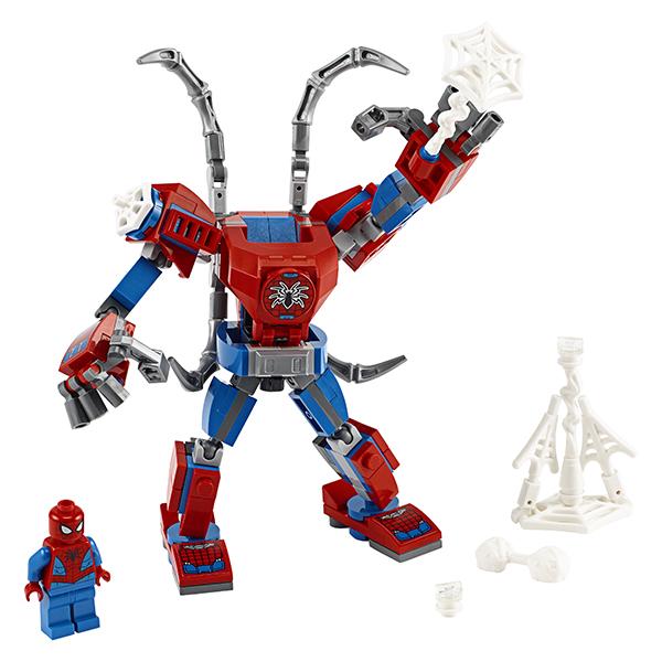 LEGO Super Heroes 76146 Конструктор ЛЕГО Супер Герои Человек-Паук: трансформер