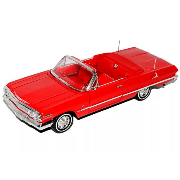 Welly 22434 Велли Модель винтажной машины 1:24 Chevrolet Impala 1963
