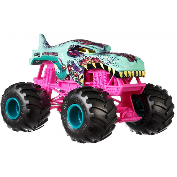 Mattel Hot Wheels GCX24 Хот Вилс Монстр трак 1:24 Зомби Рекс