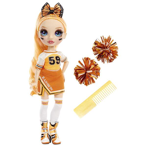 Rainbow High 572046 Кукла Cheer Doll- Poppy Rowan (Orange)