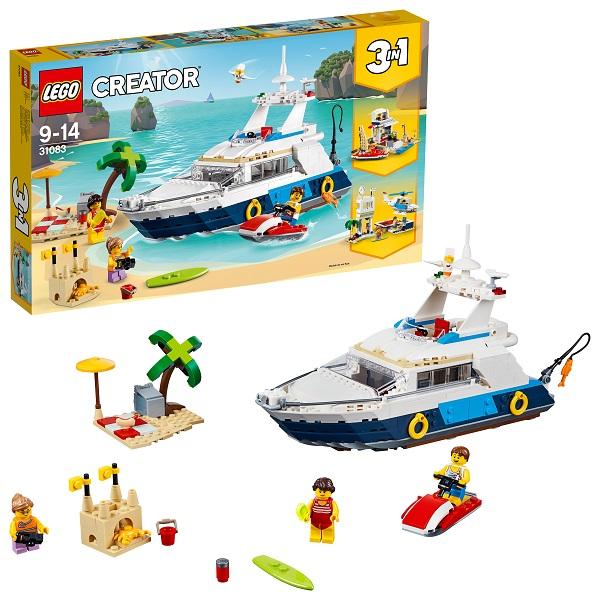 Lego Creator 31083 Конструктор Лего Криэйтор Морские приключения lego lego creator 31044 лего криэйтор животные в парке