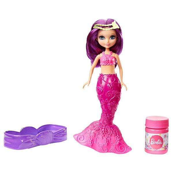 Mattel Barbie DVM98 Барби Маленькие русалочки с пузырьками Яркая mattel barbie dvm99 барби маленькие русалочки с пузырьками модная
