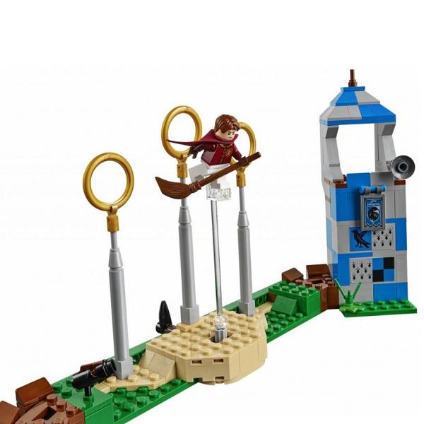LEGO Harry Potter 75956 Конструктор ЛЕГО Гарри Поттер Матч по Квиддичу