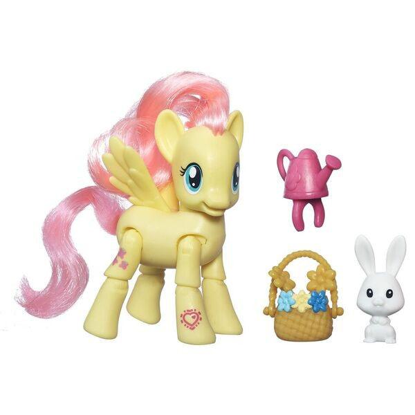 Hasbro My Little Pony B5675 Май Литл Пони Флаттершай с артикуляцией игровые наборы май литл пони my little pony pop флаттершай